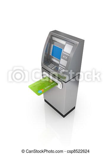 ATM concept. - csp8522624