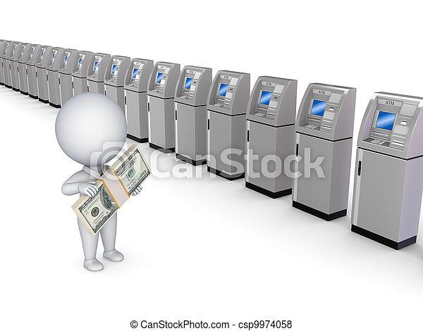 ATM concept. - csp9974058
