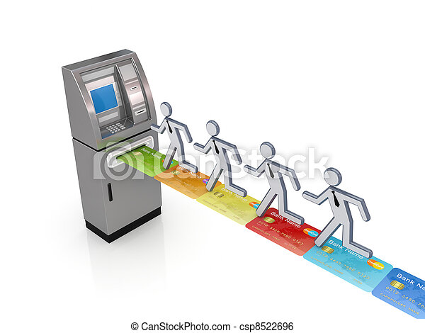 ATM concept. - csp8522696