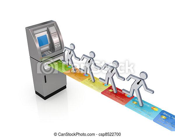 ATM concept. - csp8522700
