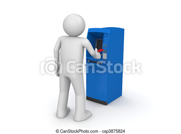 ATM - Finance collection - csp3875824