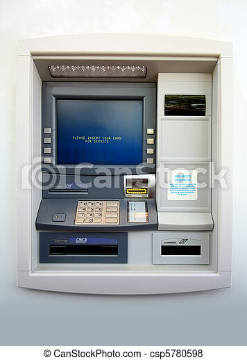 ATM machine - csp5780598