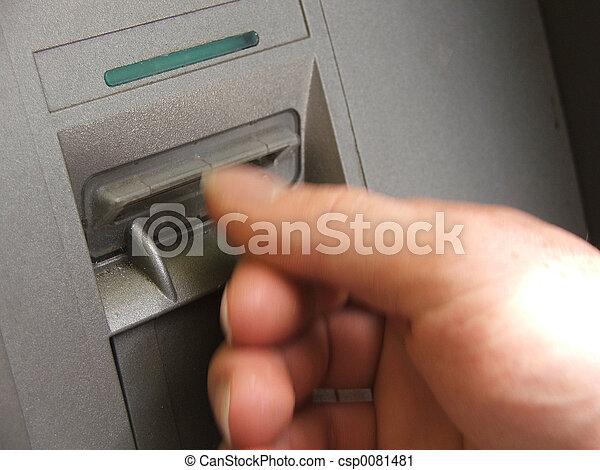 ATM transaction - csp0081481