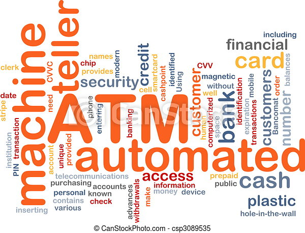 ATM word cloud - csp3089535