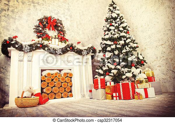 atmosfeer, kerstmis - csp32317054