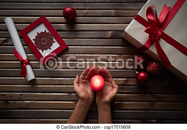 atmosfeer, kerstmis - csp17015609