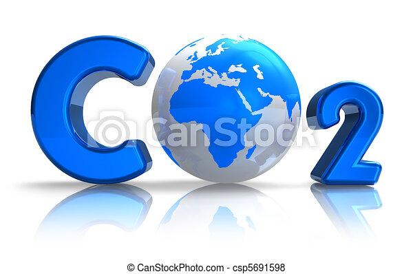 Atmospheric pollution concept - csp5691598