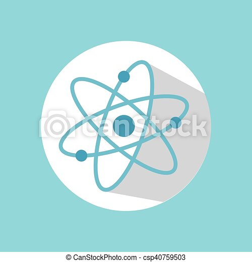 Atom chemistry structure atom chemistry molecule over white circle atom chemistry structure csp40759503 ccuart Images