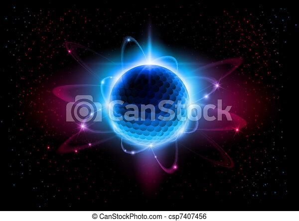 Atom - csp7407456