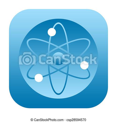 Atom icon - csp28594570