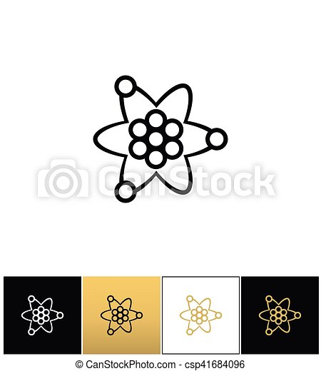 Atom or nuclear core structure vector icon atom or nuclear core atom or nuclear core structure vector icon ccuart Images