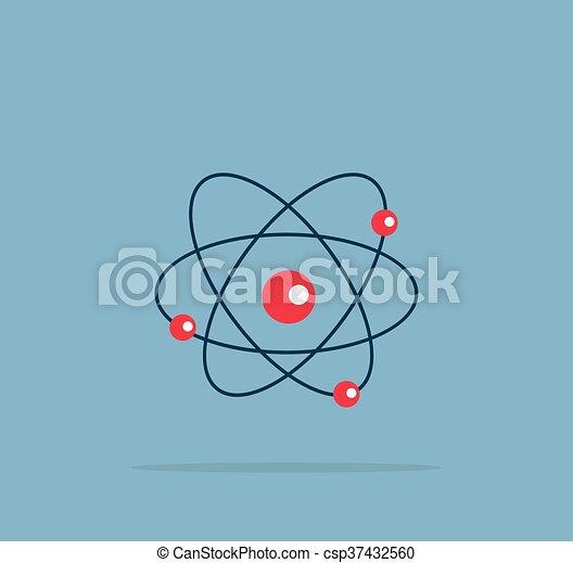 Atom structure symbol atom structure symbol of electron vector atom structure symbol csp37432560 ccuart Images