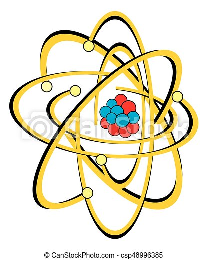 Atomic structure of carbon atom for chemistry science vector atomic structure of carbon atom vector ccuart Gallery