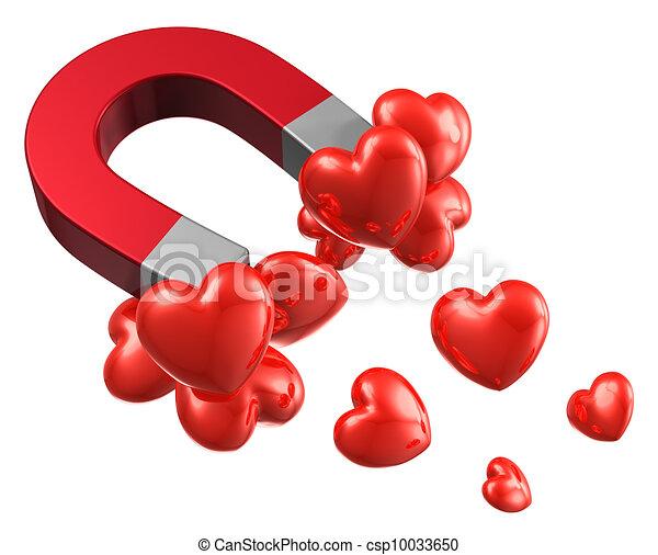 atração, conceito, amor - csp10033650