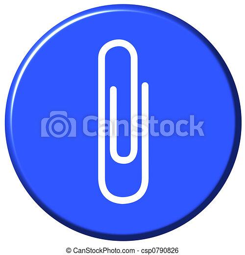 Attach Button - csp0790826