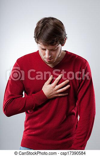 attaque, poumons - csp17390584