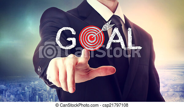 atteindre, goal! - csp21797108