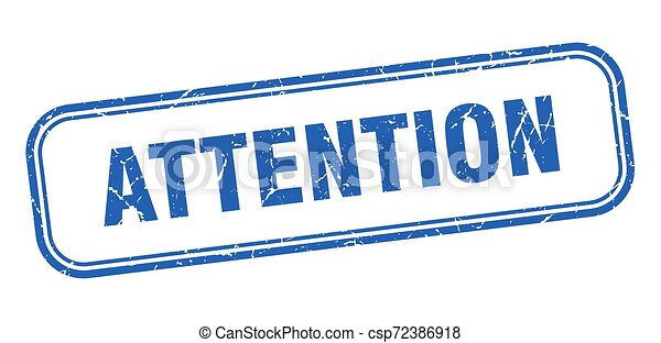 attention - csp72386918