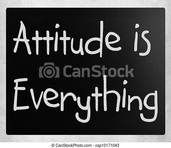 Attitude is Everything - csp10171043