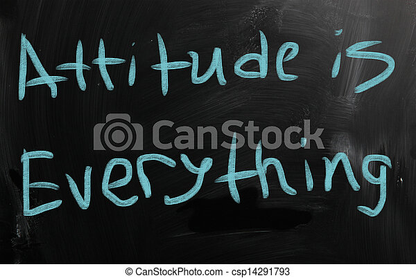 Attitude is Everything - csp14291793