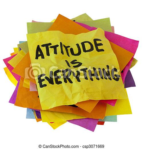 attitude is everything - csp3071669