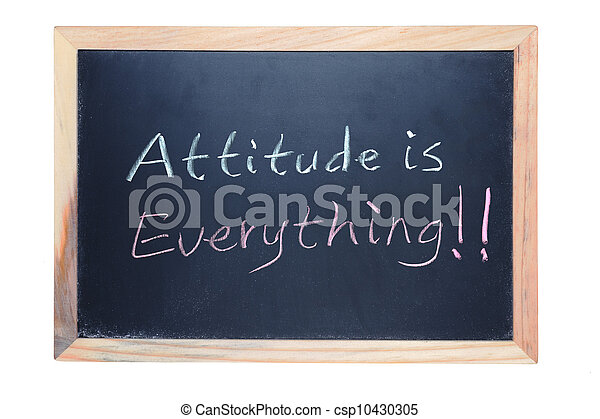 Attitude is everything - csp10430305