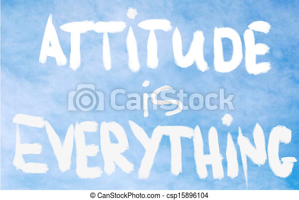 Attitude is Everything - csp15896104