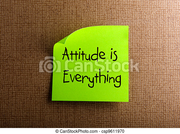 Attitude is Everything - csp9611970