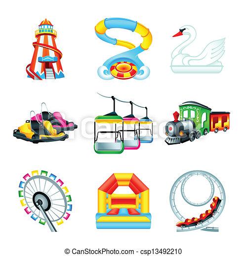 Attraction icons || Set II - csp13492210