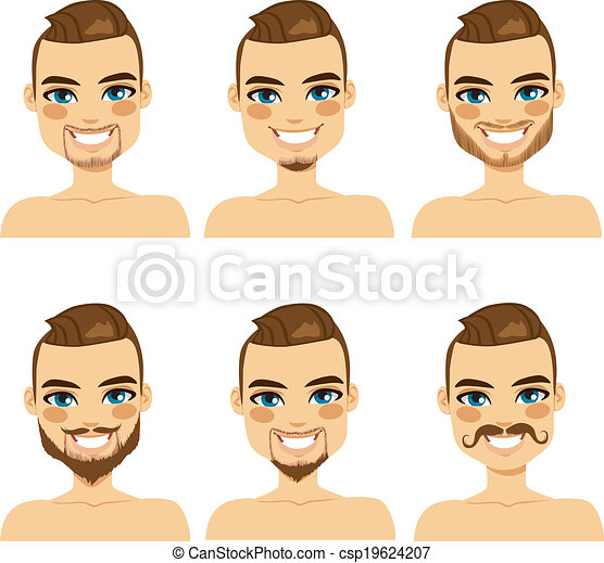 Attractive Beard Style Man - csp19624207