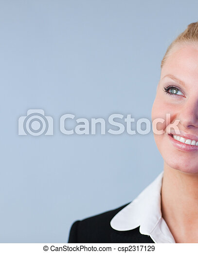 Attractive Businesswoman smiling  - csp2317129