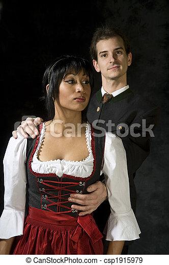 attractive couple - csp1915979
