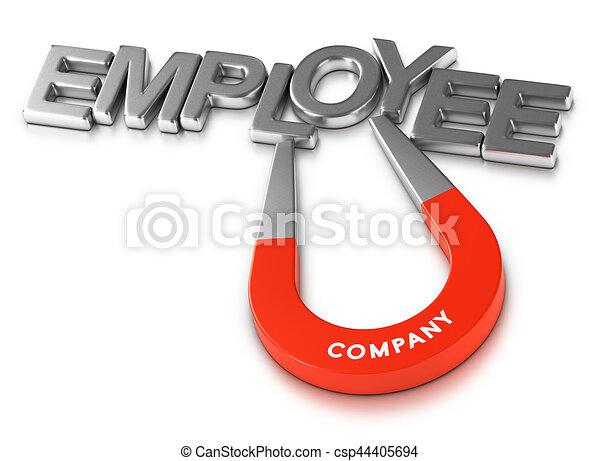 Attractive Employer and Employees Retention Program - csp44405694