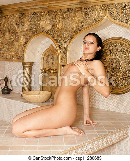 baths girl Turkish naked