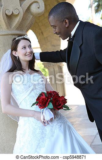 Interracial bride images