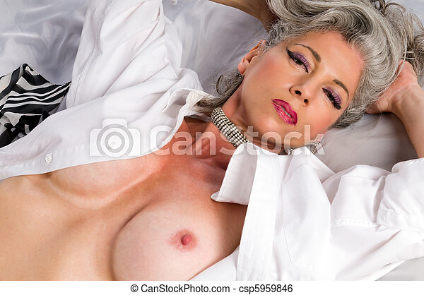 Very mature female nude photos