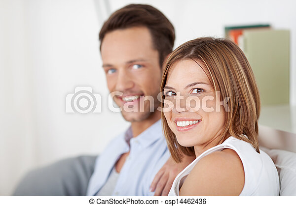Attractive young couple - csp14462436