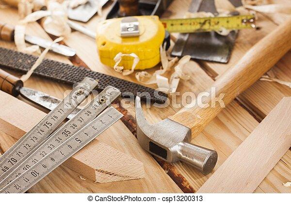 attrezzi, carpentiere - csp13200313