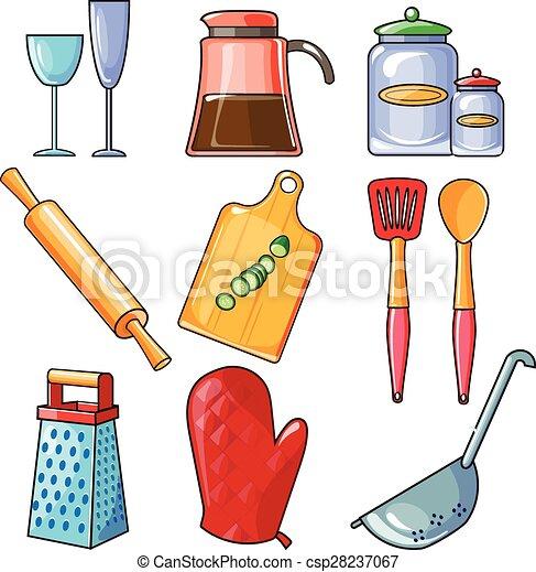Attrezzi cottura utensili cucina apparecchiatura set for Attrezzi da cucina in silicone