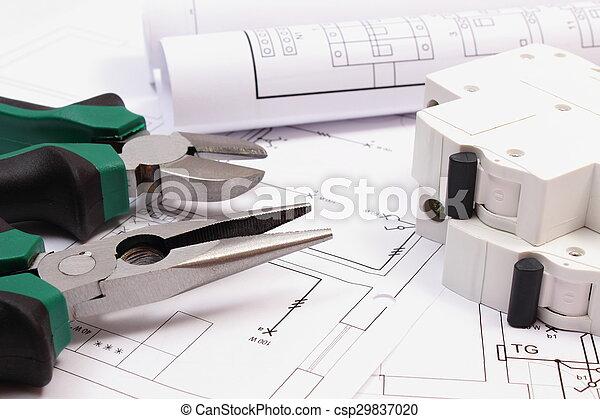 Schemi Elettrici Casa : Attrezzi elettrico lavoro casa in crosta fusibile costruzione