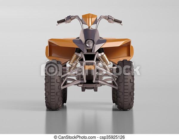 ATV Quad Bike - csp35925126