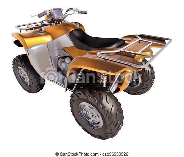 ATV Quad Bike  - csp36330326