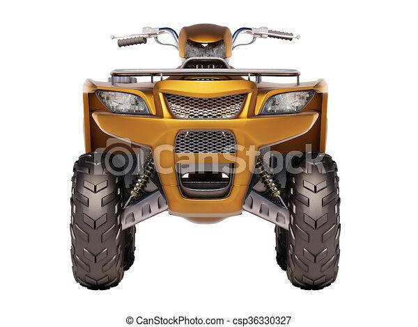ATV Quad Bike  - csp36330327