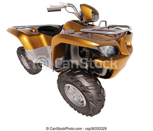 ATV Quad Bike  - csp36330329