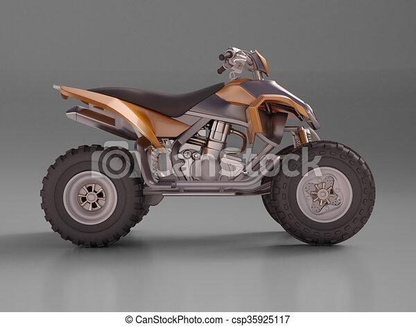 ATV Quad Bike - csp35925117