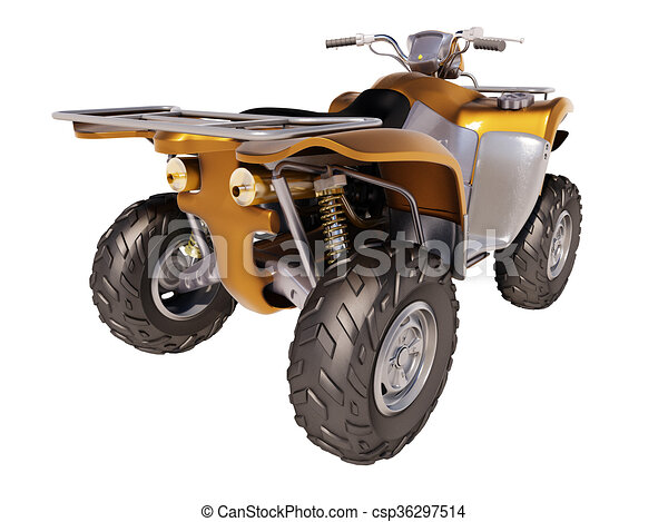 ATV Quad Bike  - csp36297514