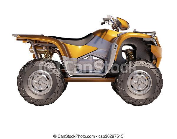 ATV Quad Bike  - csp36297515