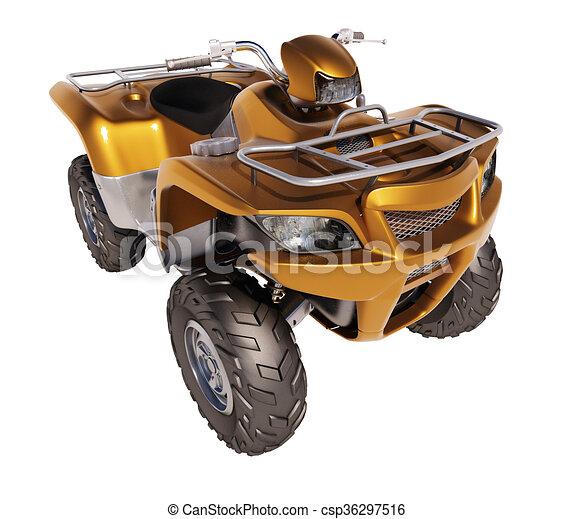 ATV Quad Bike  - csp36297516