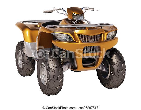 ATV Quad Bike  - csp36297517