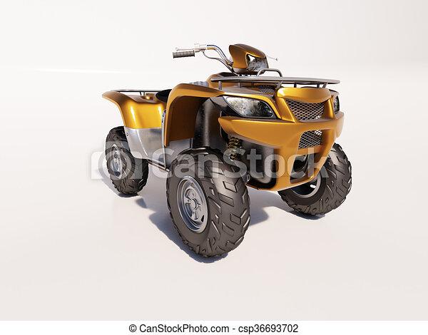 ATV Quad Bike - csp36693702